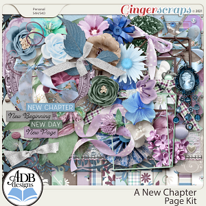 A New Chapter Page Kit by ADB Designs
