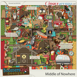 Middle of Nowhere by BoomersGirl Designs