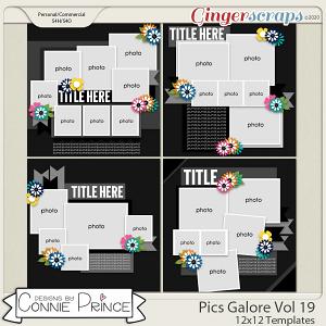 Pics Galore Volume 19 - 12x12 Temps (CU Ok) by Connie Prince