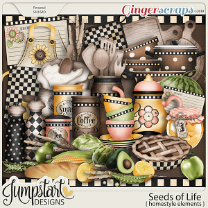 Seeds of Life {Homestyle} by Jumpstart Designs