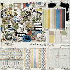 I Collect Memories Bundle by Tami Miller Designs