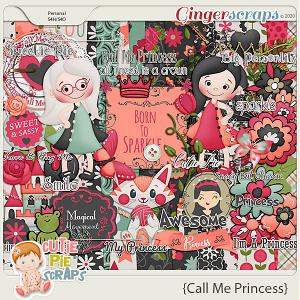 Call Me Princess Page Kit