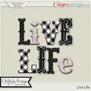 Live Life Alphabets