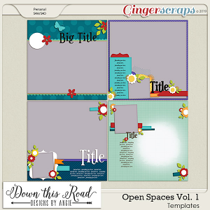 Open Spaces Templates Vol. 1