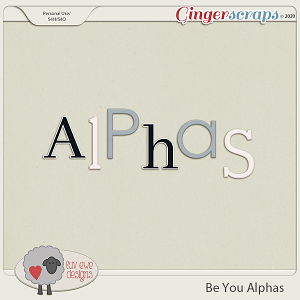Be You Alphas by Luv Ewe Designs