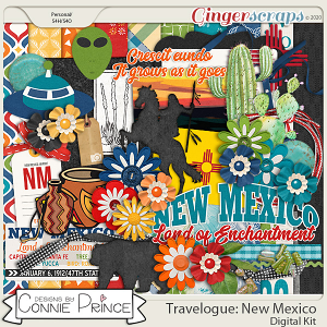 Travelogue New Mexico - Kit by Connie Prince