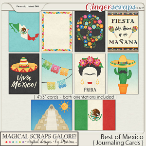 Best of Mexico (journaling cards)