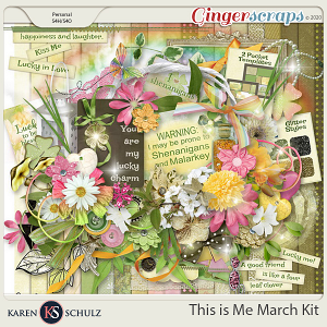 This is Me March Kit by Snickerdoodle Designs