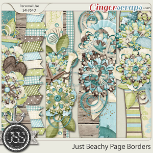 Just Beachy Page Borders