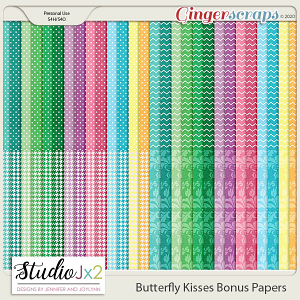 Butterfly Kisses Bonus Papers