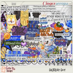 Birthday Boy Elements