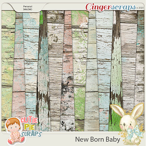 New Born Baby Wood Papers