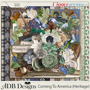 Coming To America Page Kit by ADB Designs