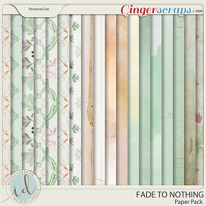 Fade To Nothing Paper Pack by Ilonka's Designs