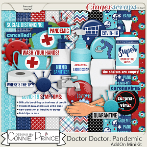 Doctor Doctor: Pandemic - Kit by Connie Prince