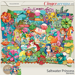 Saltwater Princess Elements by JoCee Designs