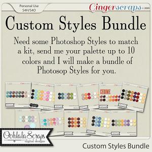 Custom Styles Bundle from Ooh La La Scraps