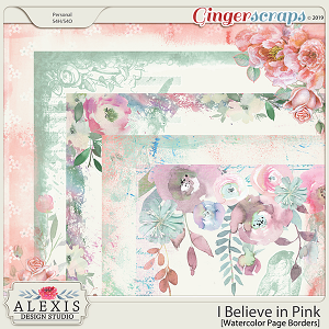 I Believe in Pink - Page Borders