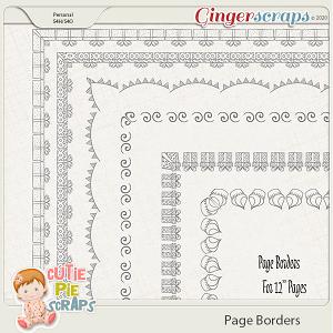 Page Borders 33 By Cutie Pie Scraps
