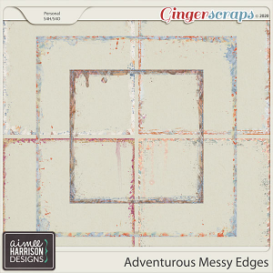 Adventurous Messy Edges by Aimee Harrison