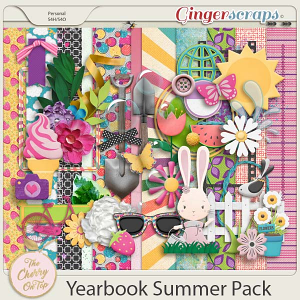 The Cherry On Top:  Yearbook Summer Pack