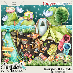 Roughin' It In Style {Backpacking} by Jumpstart Designs