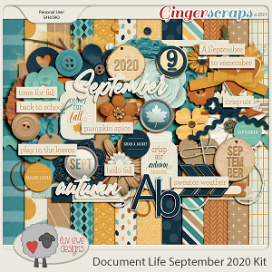 Document Life September 2020 Kit by Luv Ewe Designs