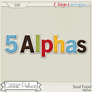 Soul Food - Alpha Pack AddOn by Connie Prince