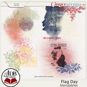 Flag Day Blendables by ADB Designs