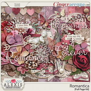 Romantica - Full Page Kit
