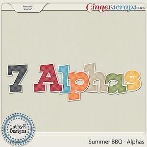 Summer BBQ - Alphas