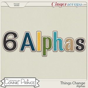 Things Change - Alpha Pack AddOn by Connie Prince