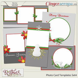 Photo Card Templates Set 4
