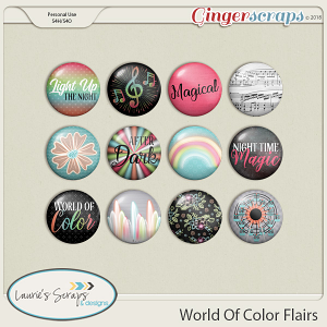 World of Color Flairs