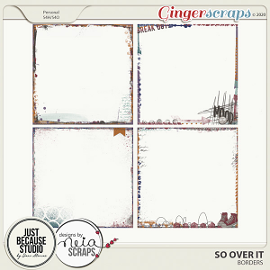 So Over It Artsy Edges by JB Studio and Neia Scraps