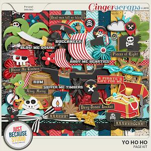 Yo Ho Ho Page Kit by JB Studio