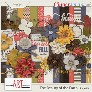 The Beauty of the Earth Page Kit