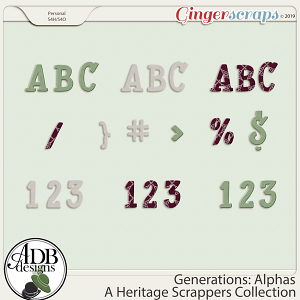 Generations Alphas by ADB Designs