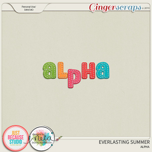 Everlasting Summer Alphas by JB Studio and Neia Scraps