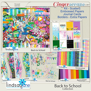 Back to School Collection by Lindsay Jane