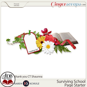 Surviving School Gift 01 by Karen Schulz and ADB Designs