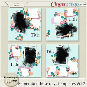 Remember these days Templates Vol.2