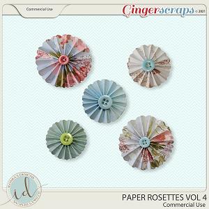 CU Paper Rosettes Vol 4 by Ilonka's Designs