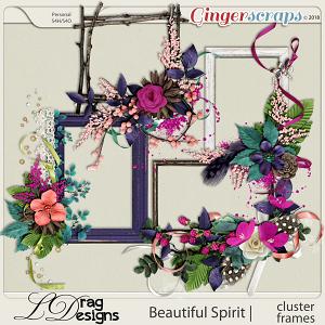 Beautiful Spirit: Cluster Frames by LDragDesigns