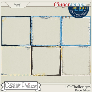Life Chronicled: Challenges - Page Edges by Connie Prince
