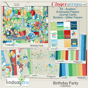Birthday Party Collection by Lindsay Jane