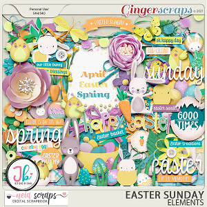 Easter Sunday - Elements - by Neia Scraps and JB Studio