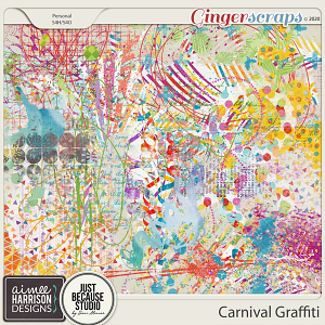 Carnival Graffiti by Aimee Harrison and JB Studio