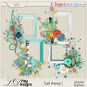 Sail Away: Cluster Frames by LDrag Designs