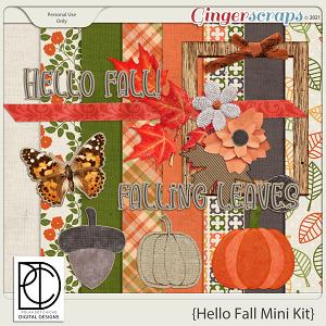 Hello Fall (Mini Kit)
